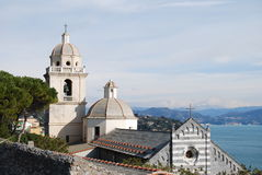 Iglesia italiana Fotografía de archivo libre de regalías