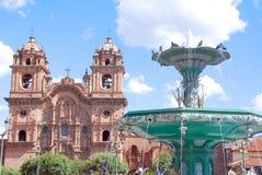Iglesia La Compana德赫苏斯(阴险的人教会) 图库摄影