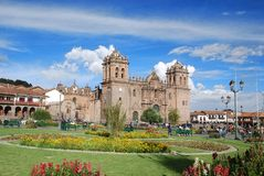 Iglesia La Compana de Jésus (église de jésuite) Images libres de droits