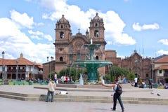 Iglesia La Compana de Jesus (igreja do jesuíta) Imagem de Stock Royalty Free