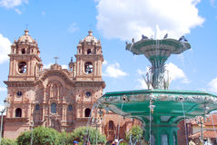 Iglesia La Compana de Jesus (igreja do jesuíta) Fotografia de Stock