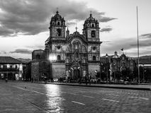 Iglesia La Compania de Jesus in Cusco Royalty Free Stock Photography