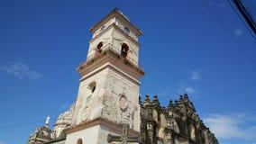 Iglesia La Merced. In Granada Nicaragua Royalty Free Stock Image