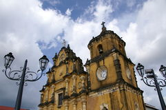 Iglesia La Recoleccion royaltyfri fotografi