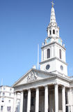 Iglesia Londres del St Martins Imagen de archivo libre de regalías