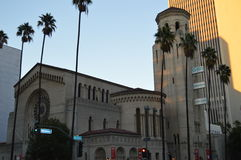 Iglesia Los Ángeles del oasis Fotos de archivo libres de regalías