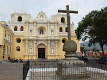 Iglesia los angeles Merced Obraz Stock