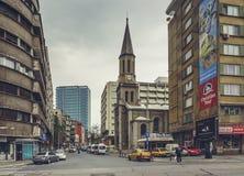 Iglesia luterana, Bucarest, Rumania Foto de archivo