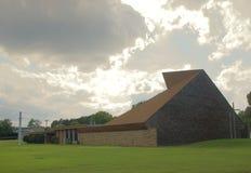 Iglesia luterana de Messiah granangular en Memphis, TN Fotos de archivo libres de regalías