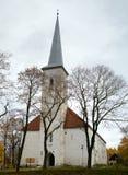 Iglesia luterana, Johvi, Estonia. Fotos de archivo