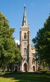 Iglesia luterana, Riga Imagen de archivo libre de regalías