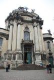 Iglesia Lviv Imagen de archivo libre de regalías