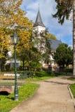 Iglesia, mún Soden, Alemania Fotografía de archivo