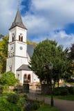 Iglesia, mún Soden, Alemania Imagen de archivo libre de regalías
