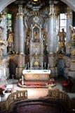 Iglesia Maguncia-Marienborn del ` s del St Stephan Foto de archivo libre de regalías