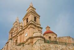 Iglesia maltesa Foto de archivo libre de regalías