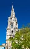 Iglesia marcial del santo en Angulema, Francia imagen de archivo libre de regalías