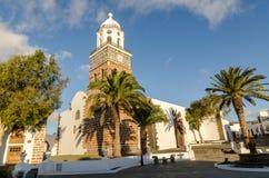 Iglesia Matriz De Nuestra señora de Guadalupe, Teguise fotografia royalty free