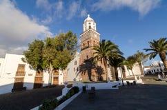 Iglesia Matriz De Nuestra señora de Guadalupe, Teguise obrazy stock