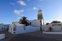 Iglesia Matriz De Nuestra señora de Guadalupe, Teguise zdjęcia royalty free