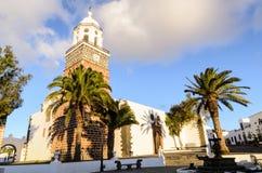 Iglesia Matriz De Nuestra señora de Guadalupe, Teguise zdjęcie royalty free