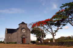 Iglesia mauriciana fotos de archivo libres de regalías