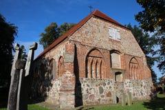 Iglesia medieval Fotos de archivo libres de regalías