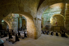 Iglesia medieval Imagenes de archivo
