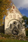 Iglesia medieval de Valjala Imagenes de archivo