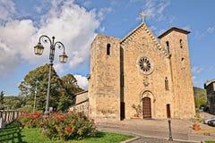 Iglesia medieval en Bolsena, Viterbo, Lazio, Italia Fotos de archivo libres de regalías