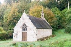 Iglesia medieval en bretón, Francia Imagen de archivo libre de regalías