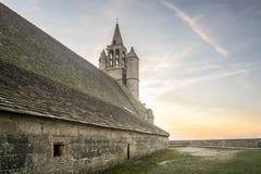Iglesia medieval en bretón, Francia Imágenes de archivo libres de regalías