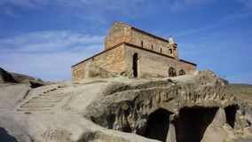 Iglesia medieval en Georgia Fotos de archivo