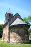 Iglesia medieval, Nagyborzsony, Hungría Imagen de archivo