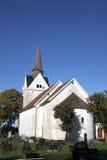 Iglesia medieval, Noruega Foto de archivo