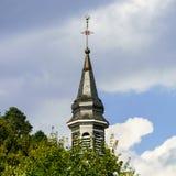 Iglesia medieval vieja de la abadía en Alsacia Fotografía de archivo