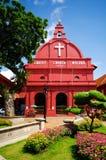 Iglesia Melaka de Cristo fotografía de archivo