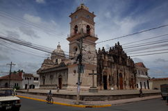 Iglesia Merced Royalty Free Stock Image