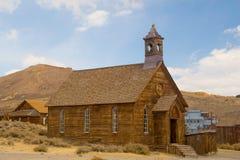 Iglesia metodista de Bodie imagen de archivo