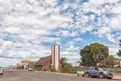 Iglesia metodista en Dundee en la provincia de Kwazulu Natal foto de archivo libre de regalías