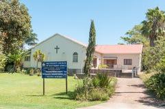 Iglesia metodista en Humansdorp Fotografía de archivo libre de regalías