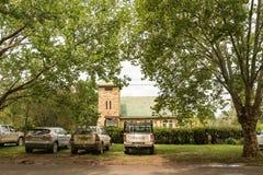 Iglesia metodista en Winterton en la provincia de Kwazulu Natal imagenes de archivo