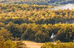 Iglesia metodista, ensenada de Cades, Great Smoky Mountains Imagenes de archivo