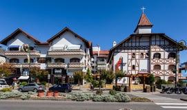 Iglesia metodista Gramado el Brasil imágenes de archivo libres de regalías