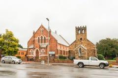 Iglesia metodista histórica en Greytown foto de archivo
