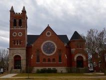 Iglesia metodista unida Fotos de archivo libres de regalías