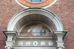 Iglesia Milano, Milano expo2015 del grazie del alle de Santa María Fotografía de archivo libre de regalías