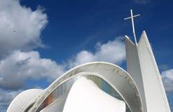 Iglesia moderna Fotos de archivo libres de regalías
