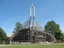 Iglesia moderna Imagenes de archivo