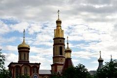 Iglesia moderna ortodoxa Foto de archivo